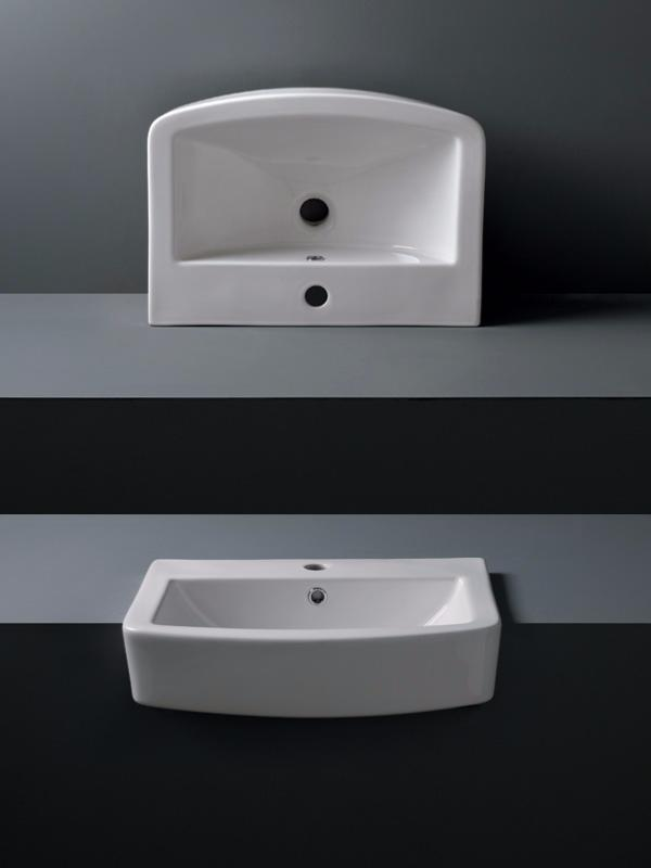 Calypso Montana 555 Semi Recessed Basin | Tiles Ahead