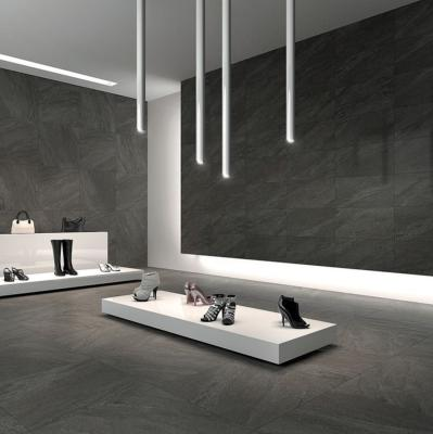 I'pietra Alpine Grey Glazed Porcelain W&F Tile 600x600mm
