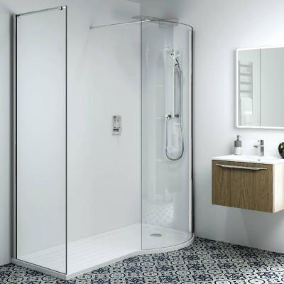 Phoenix Techno 10mm P-Shape Corner RH Shower Enclosure