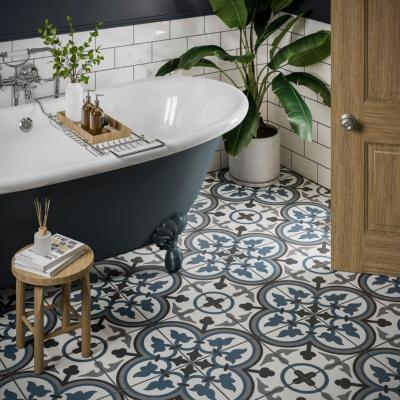 Sorolla Patterned Glazed Ceramic Wall & Floor Tile 250x250mm