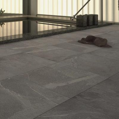 Magma Anthracite Anti Slip Porcelain Floor Tile 50x50cm