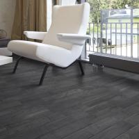 Rondine Living Nero Wall and Floor Tile 7.5x45cm