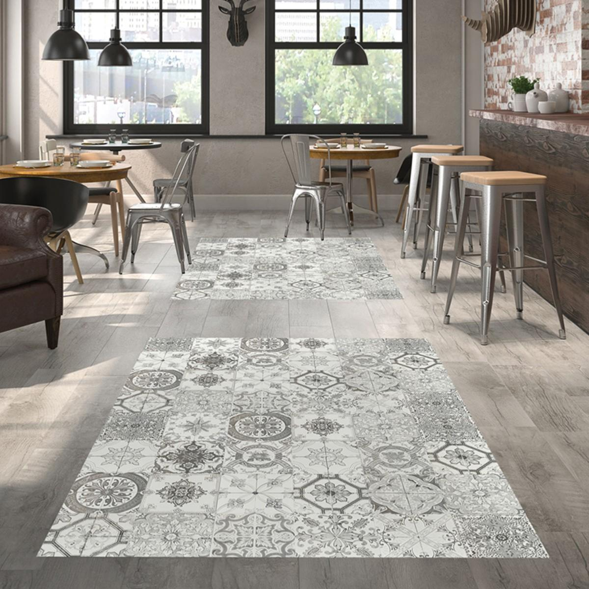 Victoria Grey Wall and Floor Tile 20x20cm | Tiles Ahead