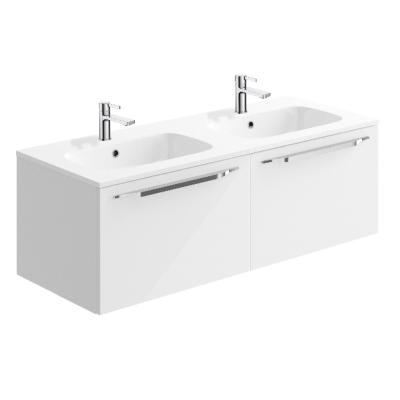 Phoenix Connect 120 Wall Unit & Double Mineral Cast Basin