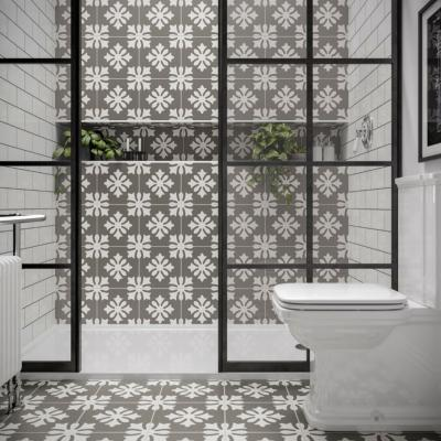 Dali Patterned Glazed Ceramic Wall & Floor Tile 250x250mm
