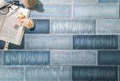 Mediterraneo Blue Wall Tile 100x300mm