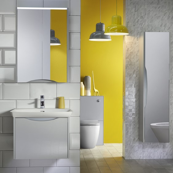 Utopia Lustre Bathroom Furniture