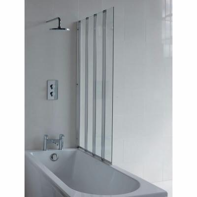 Britton Bathrooms Four Panel Folding Bathscreen