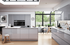 Brook - Light Grey and Dust Grey Modern Kitchen