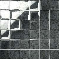 Original Style Glassworks Mosaic Antique Mirror Grey 50mm