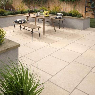 Al Fresco Hampton Beige Outdoor PorcelainTile 600x600x20mm