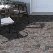 Cobblestone Bruno Arc Outdoor Tile 60.5x60.5cm