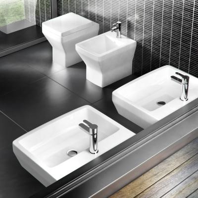 Britton Cube S20 Back to Wall WC with Soft Close Seat