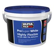 Ultra Pro Super White: Highly Flexible Acrylic Wall Tile Adhesive 15kg