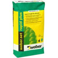Weber Tile Adhesive Rapid Plus White 20kg
