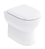 Britton Compact Back to Wall WC with Soft Close Seat