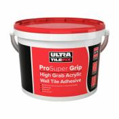 UltraTileFix ProSuper Grip High Grab Acrylic Wall Tile Adhesive 15kg