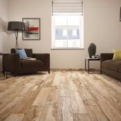 Rondine Salvage Red Wood Effect Porcelain Tile 15x100cm