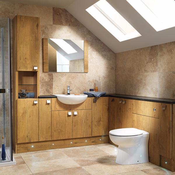 Creative Calypso Fitted Bathroom Furniture  Cannadines