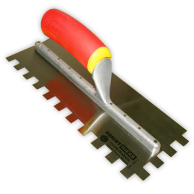 8mm Comfy Grip Professional Square Notch Trowel