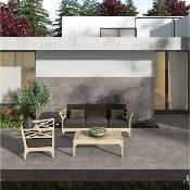 Bassia Grey Anti Slip Outdoor Tile 600x400mm