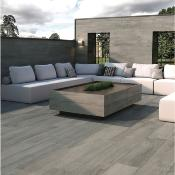 Everglow Ash 20mm Outdoor Porcelain Tile 295x1200mm