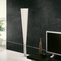 Pizarra Rock Negro Full Body Wall and Floor Tile 31.6x63.5cm