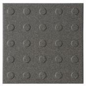 Dorset Multidisc Dark Grey Quarry Tile 15x15cm