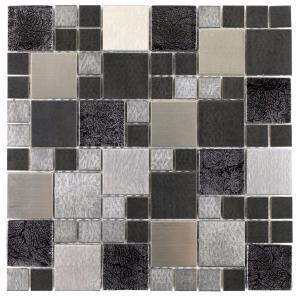 Metallic Random Mix Mosaic 30x30cm