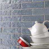 Skyline Light Blue Wall Tile 250x60mm
