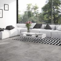 Large Format Porcelain Tex Gris Floor Tile 75x75cm