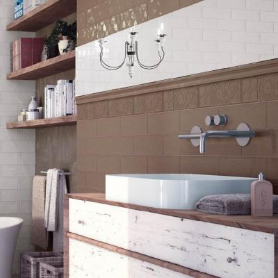 Boulevard Brown Wall Tile 10x30cm