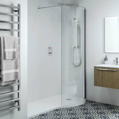 Phoenix Techno 10mm P-Shape Recess RH Shower Enclosure