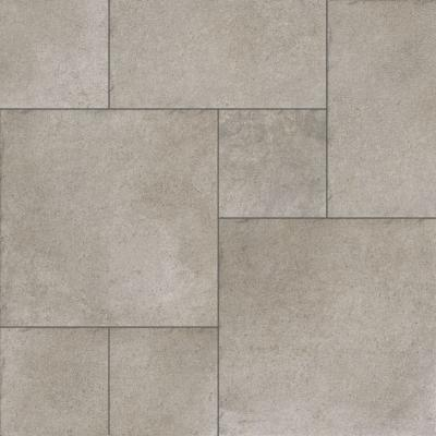 Wisconsin Opus Grey Modular Porcelain Floor Tile Set