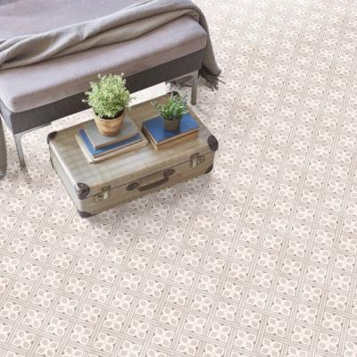 Laura Ashley Inspired Mr Jones Beige Floor Tile 33x33cm